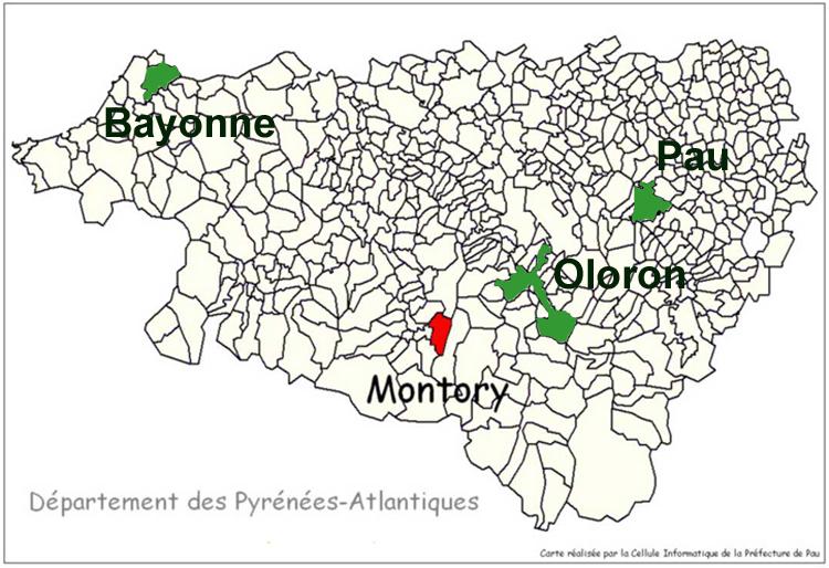 Site Communal De Montory